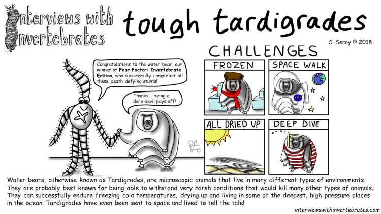 tardigrade fear factor